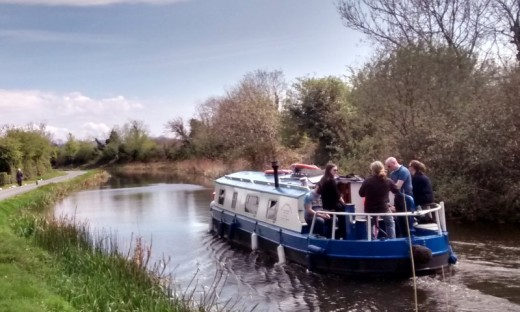 Exclusive River Barge Trip - Sallins to Leinster Aqueduct