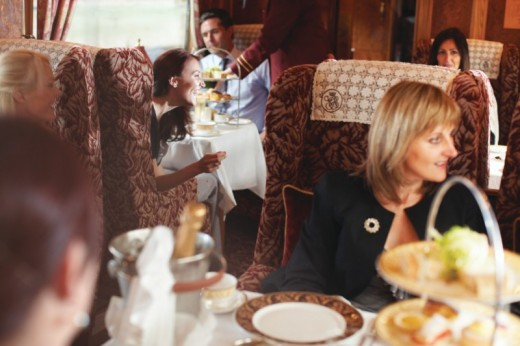 Northern Belle Brief Encounter Afternoon Tea Luxury Train Journey