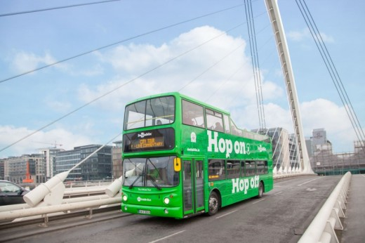 Dublin Open Top Bus Tour - 24hr