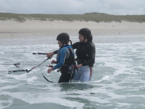 2 Day Kite Surfing in Galway
