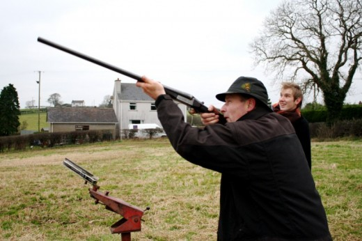 Clay Pigeon Shooting In Galway