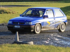 Junior Rally Level Two in Co. Armagh