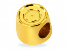 Gold Mini My Last Rolo Charm