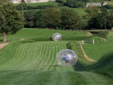 Zorbing Experience - plus Clay Pigeon Shooting & Hot Tubs