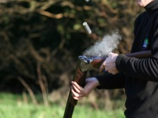 Shooting Package - Paintball, Lunch & Clay Pigeon Shooting