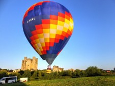 Hot Air Balloon Ride for Two - Includes Overnight Stay