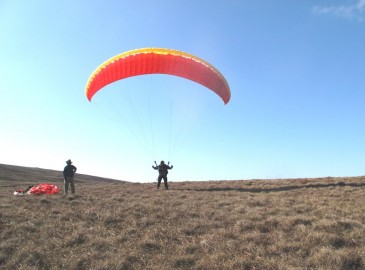 Paragliding in Ireland